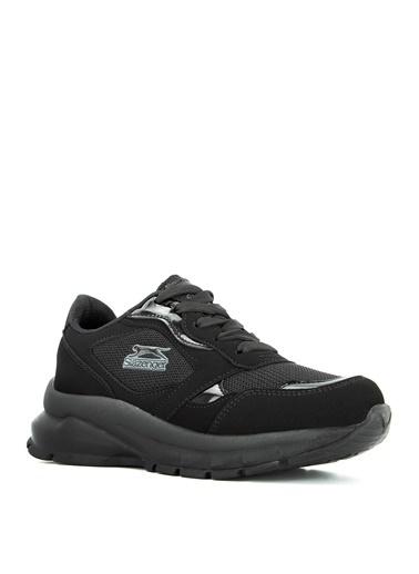 Slazenger Slazenger KANSAS Sneaker Kadın Ayakkabı    Siyah